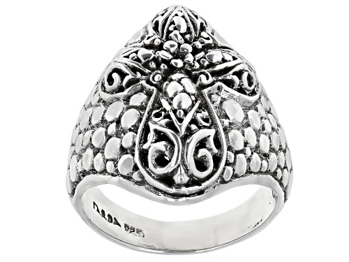 "Photo of Artisan Collection Of Bali™ Sterling Silver ""Basis Of Faith"" Cross Ring - Size 8"