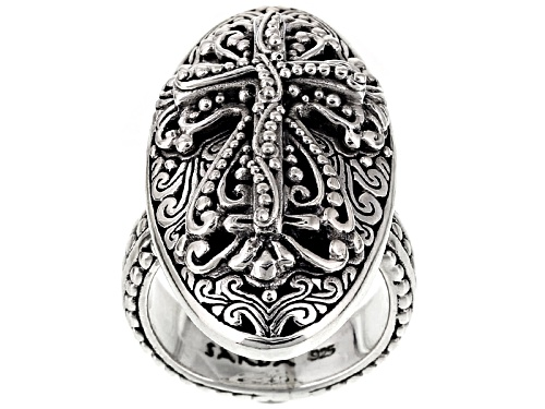 Photo of Artisan Gem Collection Of Bali™ Sterling Silver Cross Ring - Size 5