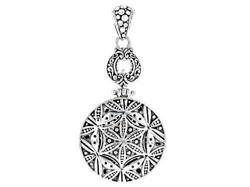 "Artisan Collection Of Bali™ Sterling Silver ""Looking Glass"" Pendant"