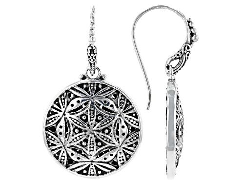 """Photo of Artisan Collection Of Bali™ Sterling Silver """"Looking Glass"""" Dangle Earrings"""