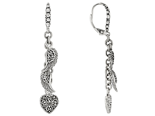 "Photo of Artisan Collection Of Bali™ Sterling Silver ""Mighty Warrior"" Dangle Earrings"