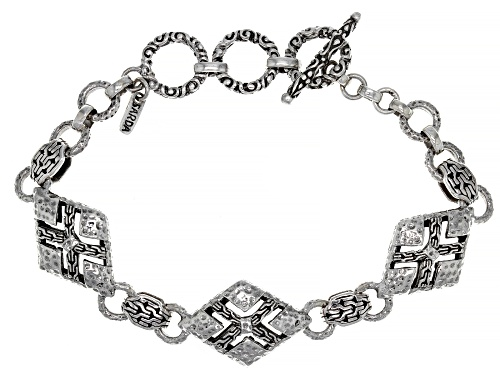 "Photo of Artisan Collection Of Bali™ Sterling Silver ""Easily Entangles"" Bracelet - Size 7.25"