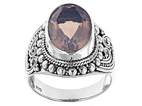 Photo of Artisan Gem Collection Of Bali™ 4.89ct Oval Lavender Quartz Sterling Silver Solitaire Ring - Size 5