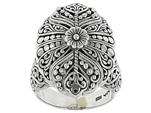 Photo of Artisan Gem Collection Of Bali™ Sterling Silver Filigree Ring - Size 12