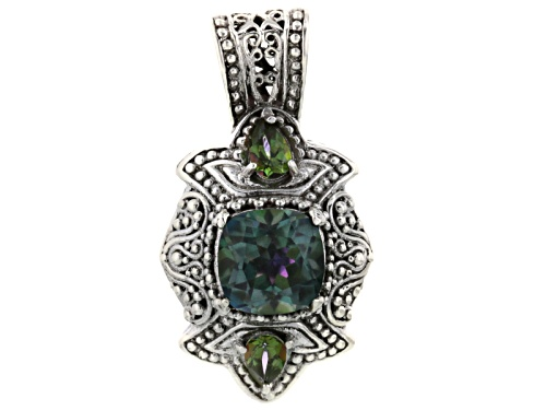 Photo of Artisan Collection Of Bali™ Sweet Gardenia™ Mystic Quartz®, Mystic Topaz® Silver Pendant