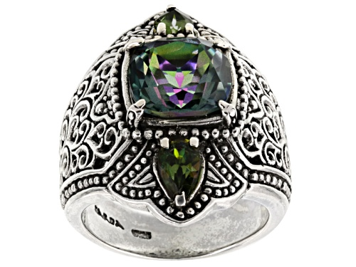 Photo of Artisan Collection Of Bali™ Sweet Gardenia™ Mystic Quartz® And Mystic Topaz® Silver Ring - Size 5