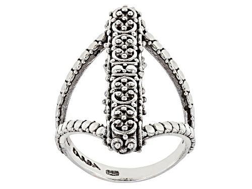 Photo of Artisan Gem Collection Of Bali™ Sterling Silver Filigree Ring - Size 6