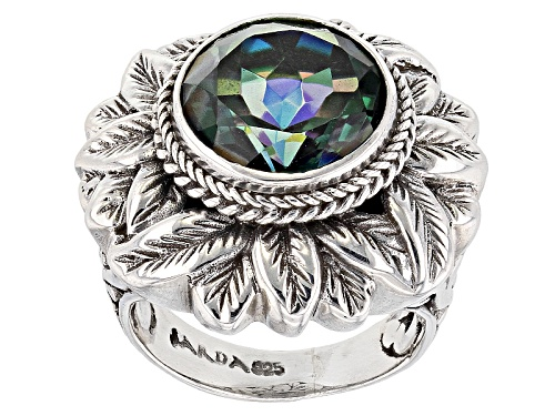 Photo of Artisan Gem Collection Of Bali™ 6.90ct Good Fortune™ Quartz Silver Solitaire Ring - Size 12