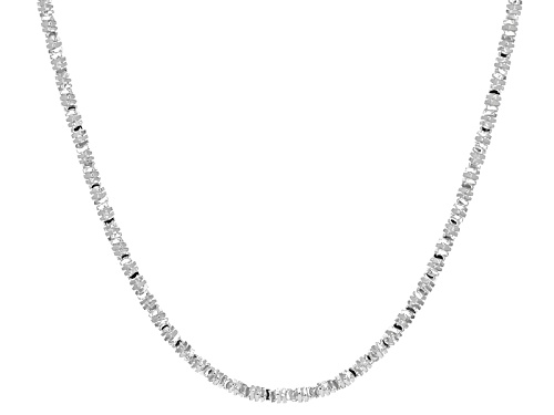 Photo of Sterling Silver Grande Foxtail Mosaico Necklace - Size 20