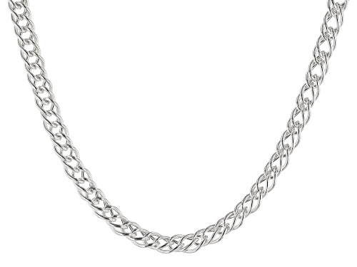 Photo of Sterling Silver Marquise Chain Necklace 20 inch