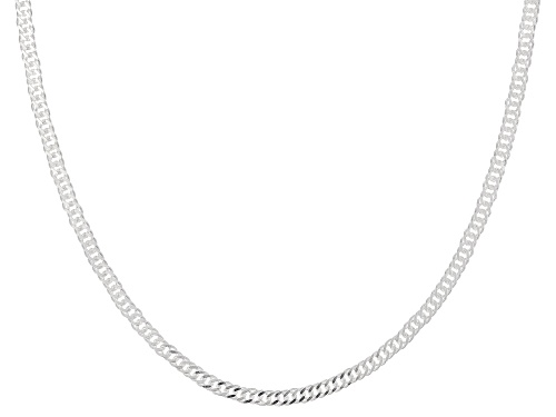 Sterling Silver 2MM Link Chain Necklace 18 Inch - Size 18