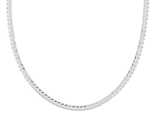 Photo of Sterling Silver 1.5MM Twisted Wheat Chain Necklace 18 Inch - Size 18