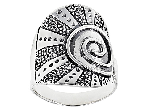 Southwest Style By Jtv™ Circle Of Life Sterling Silver Ring - Size 5