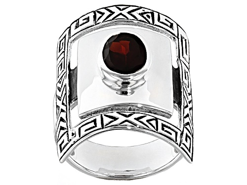 Photo of Southwest Style By Jtv™ 1.45ct Oval Vermelho Garnet™ Sterling Silver Solitaire Ring - Size 5