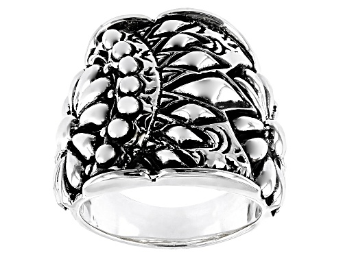 Photo of Southwest Style By Jtv™ Sterling Silver Tribal Flower Ring - Size 5