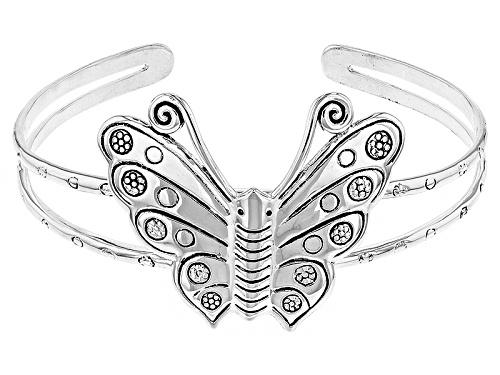 Photo of Southwest Style By Jtv™ Sterling Silver Butterfly Cuff Bracelet