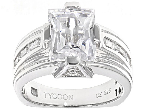 Photo of Tycoon For Bella Luce ® 7.20ctw Baguette & Round Platineve® Ring (4.51ctw Dew) - Size 8