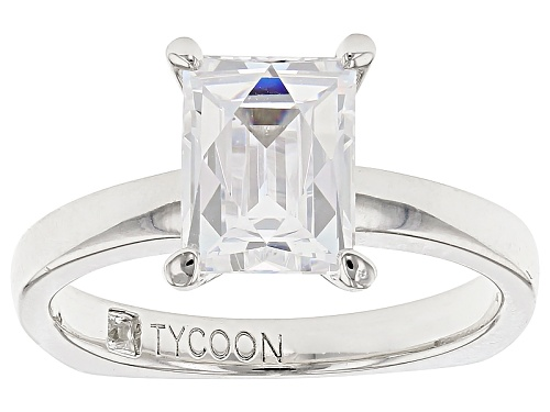 Photo of Tycoon For Bella Luce ® 3.47ctw Baguette Platineve® Ring (2.17ctw Dew) - Size 11