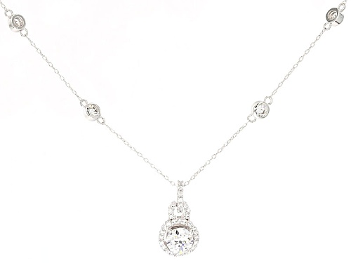 Photo of Tycoon For Bella Luce ® 2.91ctw Round Platenive ™ Necklace (1.79ctw Dew)