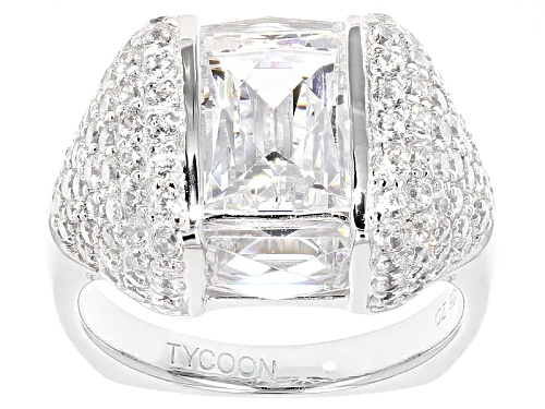 Photo of Tycoon For Bella Luce ® 9.98ctw Baguette And Round Platineve® Ring (4.22ctw Dew) - Size 5