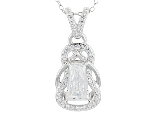 Photo of Tycoon For Bella Luce ® 3.38ctw Baguette And Round Platineve® Pendant With Chain