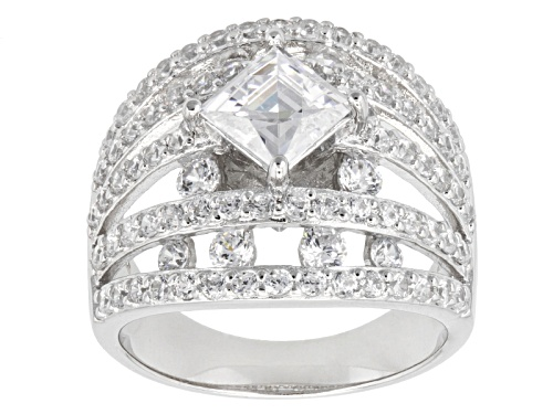 Photo of Tycoon For Bella Luce ® 4.90ctw Diamond Simulant Platineve ™ Ring (2.95ctw Dew) - Size 6