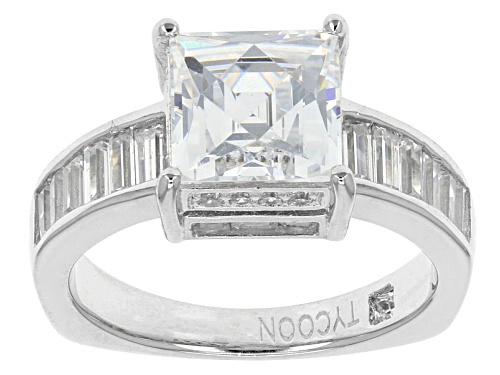 Photo of Tycoon For Bella Luce ® 5.93ctw Baguette, Square, & Round Platineve® Ring (4.19ctw Dew) - Size 7