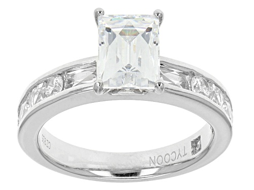 Photo of Tycoon For Bella Luce ®  4.55ctw Baguette, Square, & Round Platineve Ring (2.74ctw Dew) - Size 8