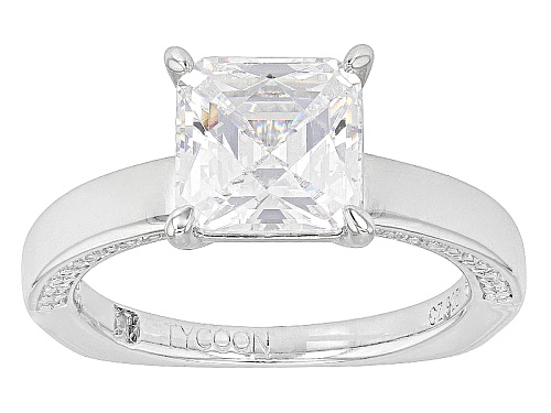 Photo of Tycoon For Bella Luce® 4.96ctw Square & Round Platineve® Ring (3.28ctw Dew) - Size 8
