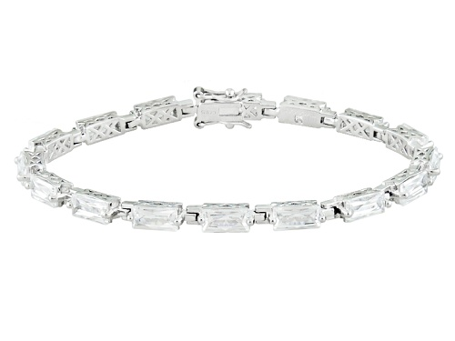 Photo of Tycoon For Bella Luce ® 21.02ctw Baguette Platineve® Bracelet (16.96ctw Dew) - Size 7.25