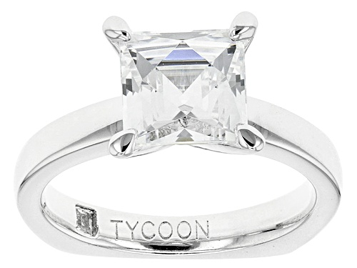 Photo of Tycoon For Bella Luce ®  2.95ctw Square Platineve® Ring (1.96ctw Dew) - Size 10