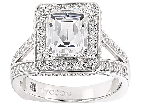 Photo of Tycoon For Bella Luce ® 5.19ctw Platineve® Ring (3.20ctw Dew) - Size 10