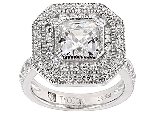 Photo of Tycoon For Bella Luce ® 4.22ctw Platineve ™ Ring (2.79ctw Dew) - Size 10