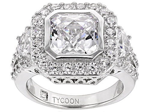 Photo of Tycoon For Bella Luce ® 7.00ctw Platineve® Ring (4.00ctw Dew) - Size 11