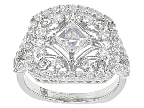 Photo of Tycoon For Bella Luce ® 2.82ctw Platineve® Ring (1.67ctw Dew) - Size 5