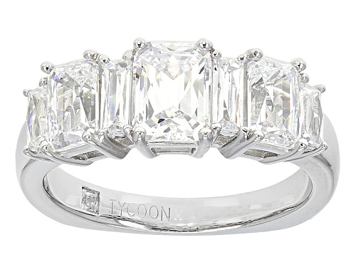 Photo of Tycoon For Bella Luce ® 4.17ctw Platineve ™ Ring (3.04ctw Dew) - Size 10