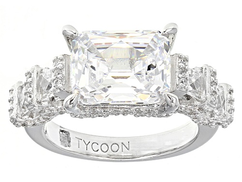Photo of Tycoon For Bella Luce ® 7.33ctw Platineve® Ring (4.96ctw Dew) - Size 8