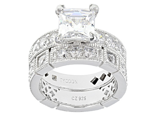 Photo of Tycoon For Bella Luce ® 9.21ctw Platineve® Ring With Band (6.07ctw Dew) - Size 10