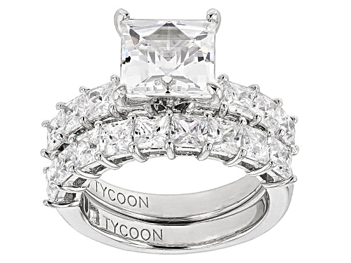 Photo of Tycoon For Bella Luce ® 8.52ctw Platineve® Ring With Band (6.07ctw Dew) - Size 8