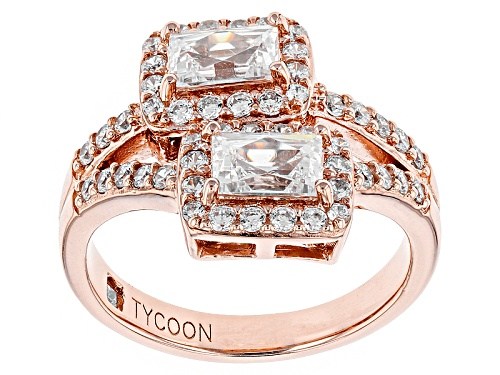 Photo of Tycoon For Bella Luce ® 3.07ctw Eterno ™ Rose Ring (1.49ctw Dew) - Size 8