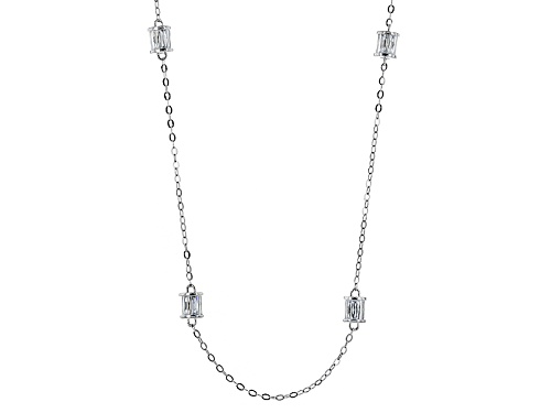 Photo of Tycoon For Bella Luce ® 6.02ctw White Diamond Simulant Platineve ™ Necklace(4.56ctw Dew) - Size 18