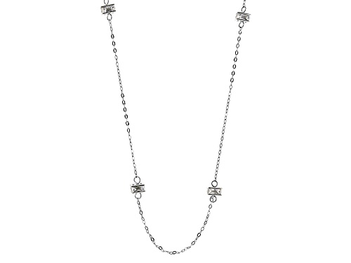 Photo of Tycoon For Bella Luce ® 11.76ctw Diamond Simulant Platineve ™ Necklace(7.20ctw Dew) - Size 24