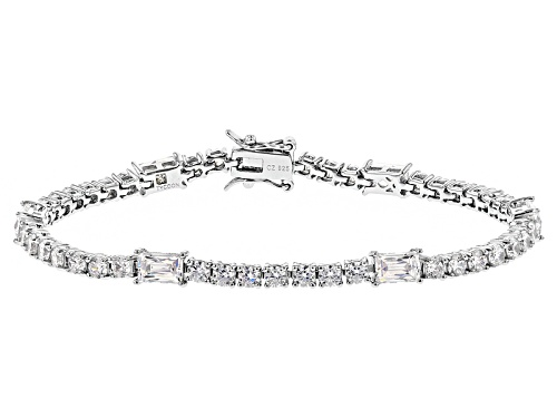Photo of Tycoon For Bella Luce ® 13.44ctw White Diamond Simulant Platineve® Bracelet(8.36ctw Dew) - Size 7.25