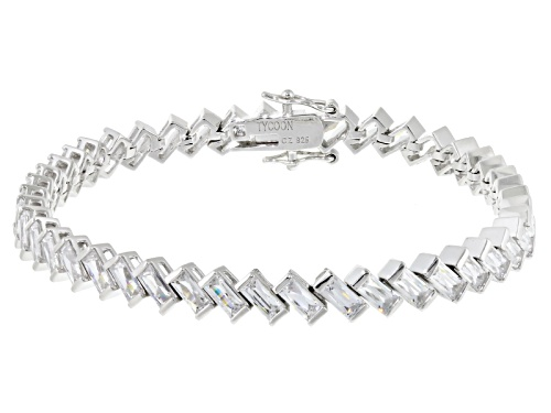 Photo of Tycoon For Bella Luce ® 15.04ctw White Diamond Simulant Platineve® Bracelet(12.76ctw Dew) - Size 7.25