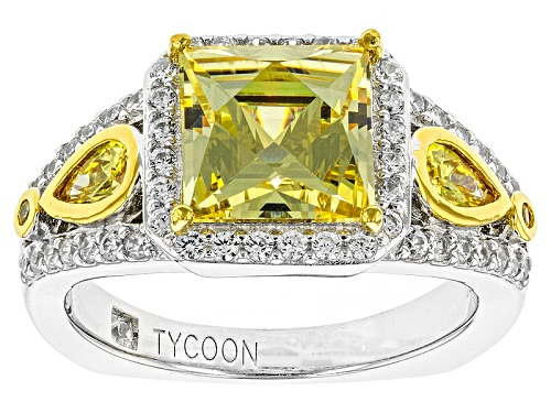 Photo of Tycoon For Bella Luce ® 6.02ctw Platineve® & Eterno ™ Yellow Ring (4.05ctw Dew) - Size 7