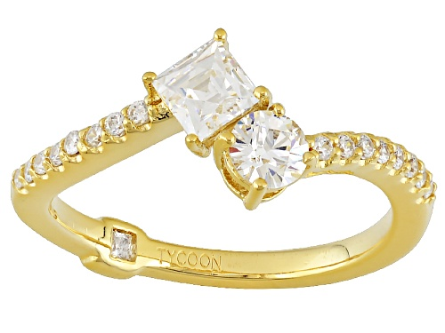 Photo of Tycoon For Bella Luce ® 1.23ctw White Diamond Simulant Eterno ™ Yellow Ring(.80ctw Dew) - Size 7