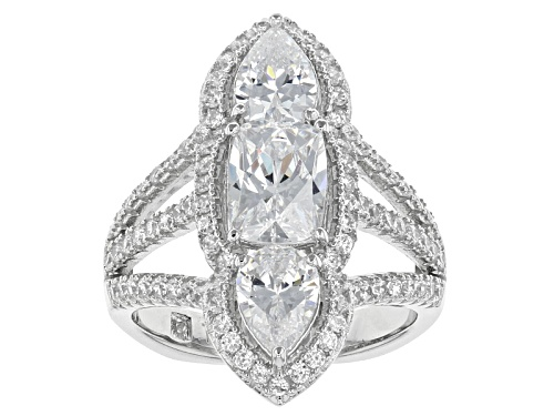 Photo of Tycoon For Bella Luce ® 5.94ctw Platineve® Ring (4.06ctw Dew) - Size 8