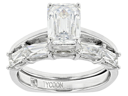 Photo of Tycoon For Bella Luce ® 4.73ctw Platineve® Ring With Band (2.94ctw Dew) - Size 10