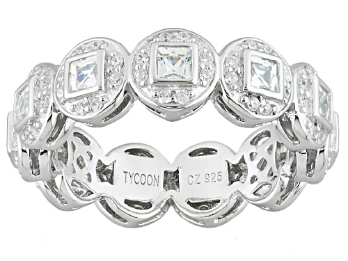 Photo of Tycoon For Bella Luce ® 2.21ctw Diamond Simulant Platineve® Ring (1.54ctw Dew) - Size 10