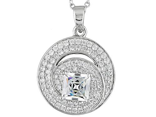 Photo of Tycoon For Bella Luce® 3.21ctw Diamond Simulant Platineve® Pendant With Chain (2.06ctw Dew)